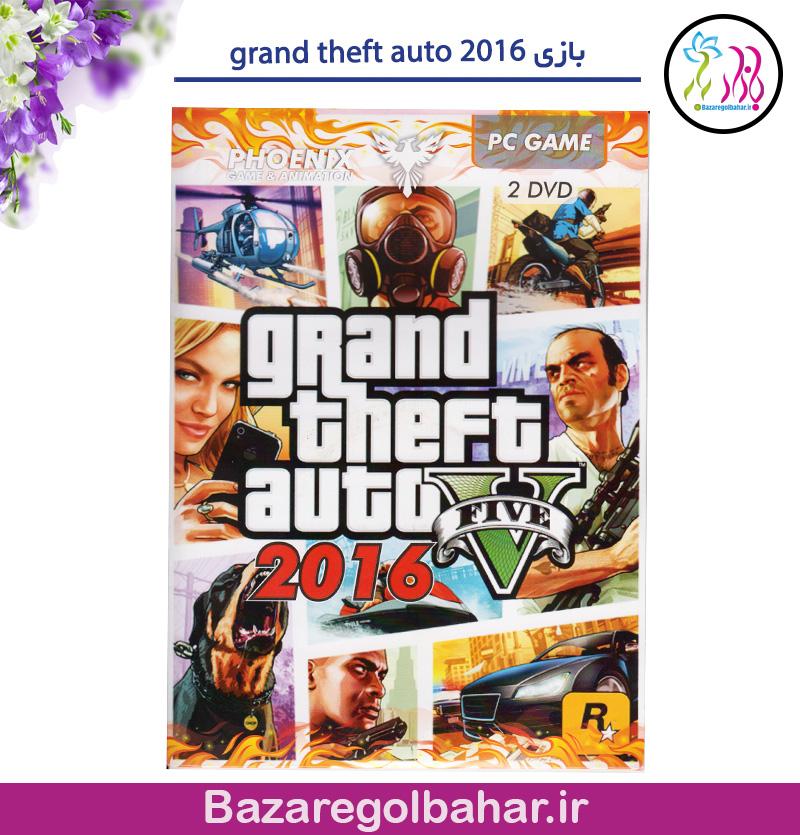 بازی grand theft auto 2016 - کد 784k