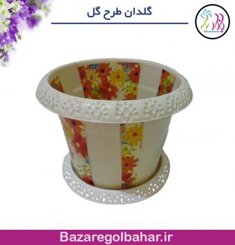 گلدان طرح گل - کد 1164mkhp