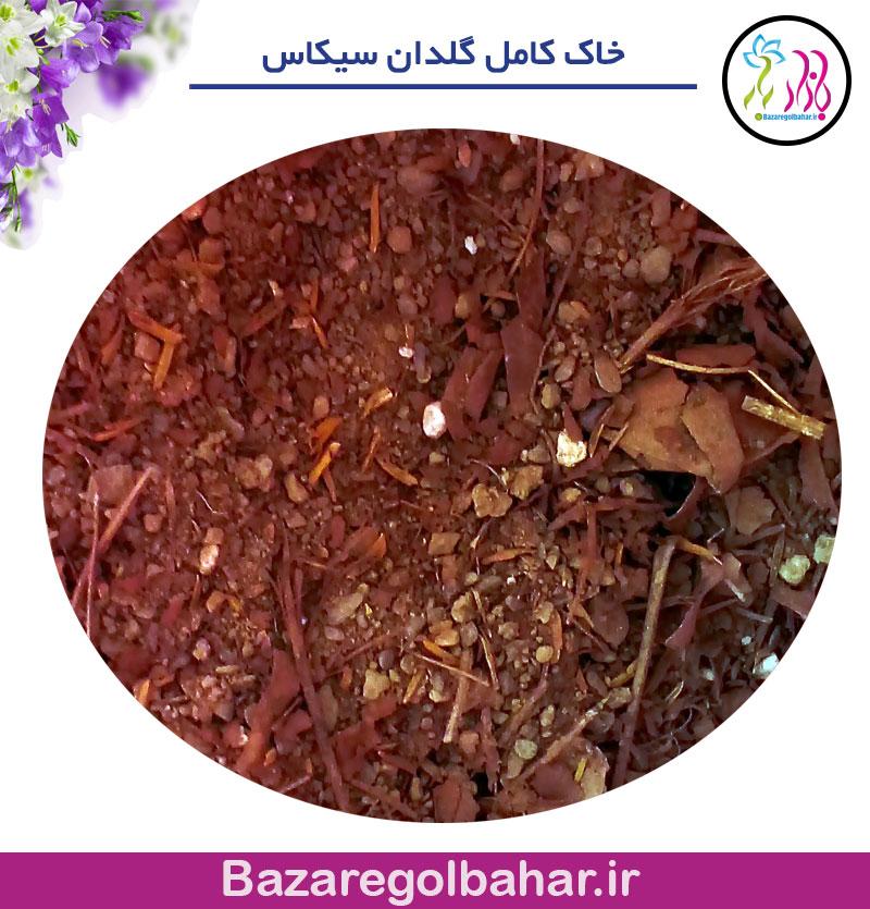 خاک گلدان